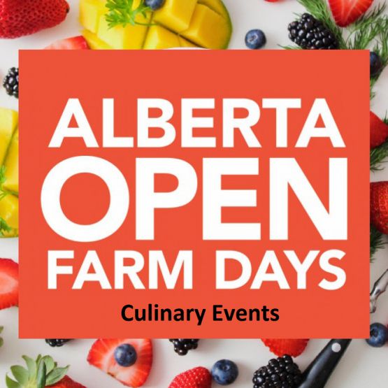 Open  Farm Days Culinery Events